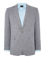 Chester Barrie Elverton Plain Jacket Grey