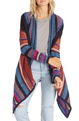 Billabong Women's Winter Wonderland Cardigan Peacoat