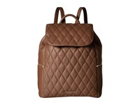 Vera Bradley Quilted Amy Backpack Cognac Backpack Bags Tan