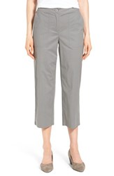 Women's Eileen Fisher Stretch Cotton Crop Pants