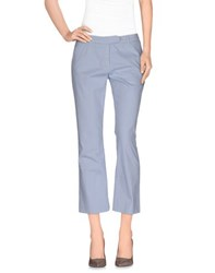 Douuod Trousers 3 4 Length Trousers Women Sky Blue