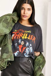 Urban Outfitters Michael Jackson Thriller Tee Black