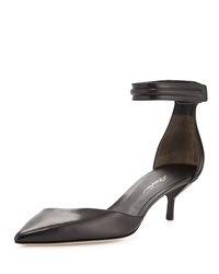 3.1 Phillip Lim Martini D'orsay Kitten Heel Black