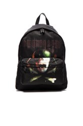 Givenchy Army Skull Print Backpack In Black