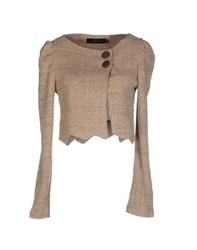 Mina Knitwear Cardigans Women Dove Grey