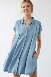 Cooperative Charmane Chambray Dress Vintage Denim Light