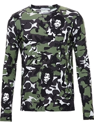 Printed Artworks Hendrix Camouflage Top Repetto