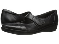 Clarks Everlay Kennon Black Leather Women's Shoes