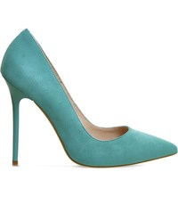 Office Onto Suede Court Shoes Jade Kid Suede