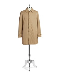 Lauren Ralph Lauren Packable Raincoat Tan