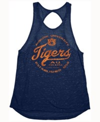 Blue 84 Women's Auburn Tigers Confetti Twist Back Tank Navy