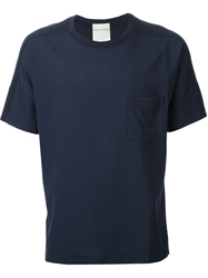 Stephan Schneider Chest Pocket T Shirt Blue