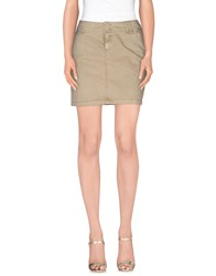 Timeout Skirts Mini Skirts Women Khaki