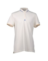 Le Coq Sportif Polo Shirts Blue