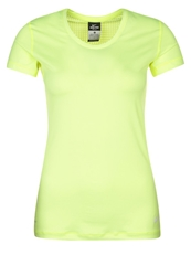 Nike Performance Pro Hypercool Sports Shirt Volt White Neon Yellow