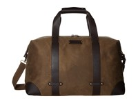 Trask Bridger Trail Duffel Ranger Tan Waxed Canvas Steer Trim Duffel Bags Brown
