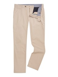 Linea Men's Russell Cotton Chinos Stone