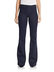 J Brand Tailored High Waist Flared Jeans Inkwell