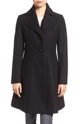 Larry Levine Women's Fit And Flare Coat