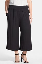 Plus Size Women's Sejour Knit Palazzo Pants