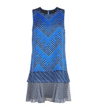 Diane Von Furstenberg Liza Silk Swing Dress Female Blue
