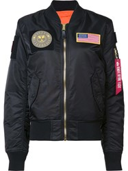 Alpha Industries 'Ma 1 Flex' Jacket Black