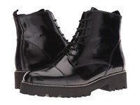 Gabor 51.800 Black Boxcalf Women's Lace Up Boots