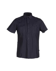 Geox Shirts Shirts Men Dark Blue