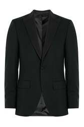 Baldessarini Virgin Wool Blazer Black