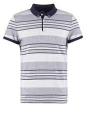 Pier One Polo Shirt White Navy