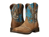 Ariat Ranchbaby Ii Distressed Brown Cowboy Boots