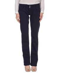 Pepe Jeans Trousers Casual Trousers Women Dark Blue