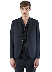 Ss16 Saint Laurent 2 Button Jacket Black