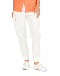 Lauren Ralph Lauren Cotton Chino Cargo Pants White