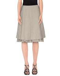 Strenesse Skirts Knee Length Skirts Women Grey