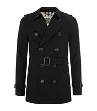 Burberry London The Sandringham Short Heritage Trench Coat Male
