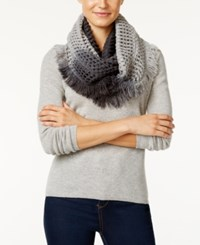 Steve Madden Made In The Shade Infinity Scarf Black