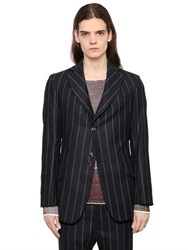 Vivienne Westwood Pinstriped Wool Twill Jacket