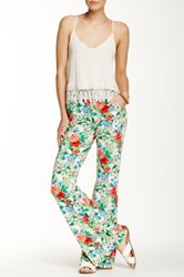 American Twist Pocketed Printed Legging Multi