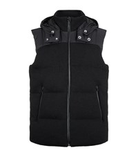 Porsche Design Knitted Down Gilet Male
