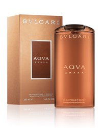 Bulgari Aqva Amara Shampoo Shower Gel 6.8Oz Bvlgari