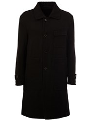 Ann Demeulemeester Reversible Coat Black