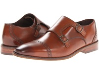Florsheim Castellano Monk Strap Oxford Saddle Tan Men's Shoes Brown