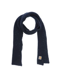 Carhartt Oblong Scarves Dark Blue