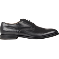 Franceschetti Plain Toe Bluchers Black