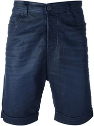 Diesel Black Gold 'Type 2612' Denim Shorts Blue