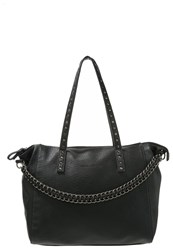 Tom Tailor Denim Fali Tote Bag Black