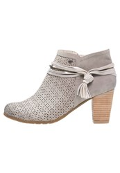 Tom Tailor Ankle Boots Grey