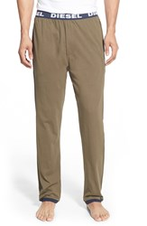 Diesel 'Umlb Massi' Lounge Pants Olive Green