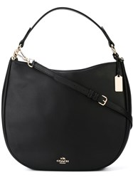 Coach 'Nomad' Hobo Shoulder Bag Black